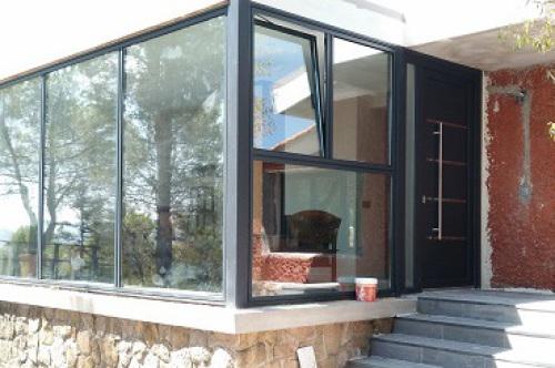 ventanas de aluminio K-Line amplitud de luz