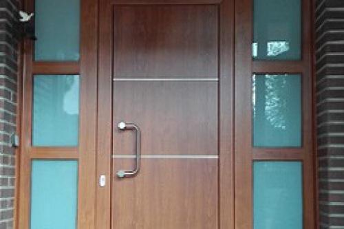 Puerta exterior de seguridad y calidad
